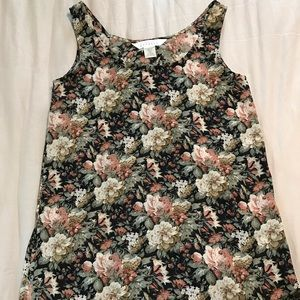 Express flowery blouse
